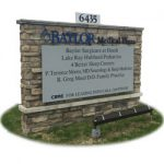 Masonry Monuments Metal Parking Signs Acrylic & Flex Inserts