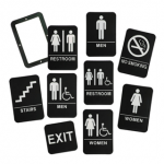 Custom ADA Signs Braille Wayfinding
