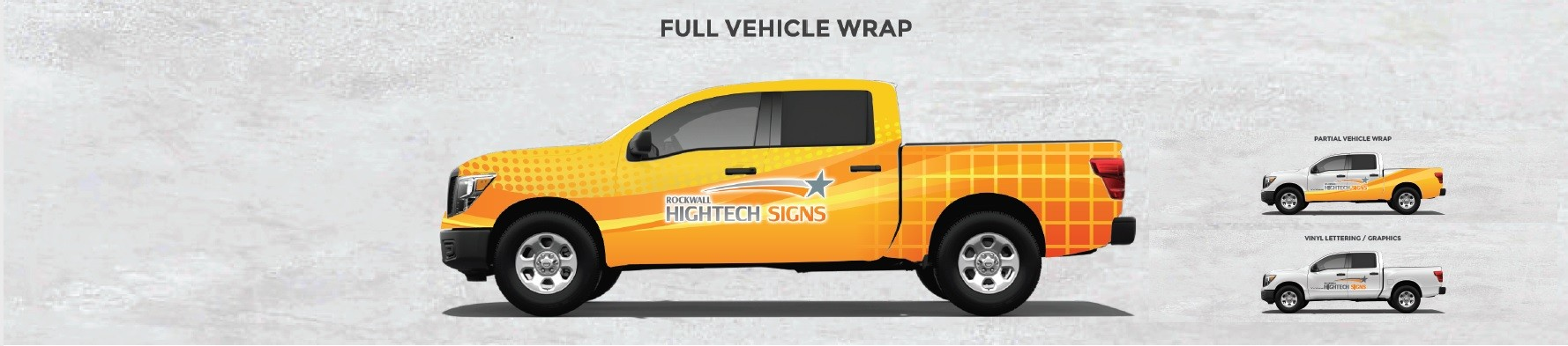 Full Vehicle Wrap Header
