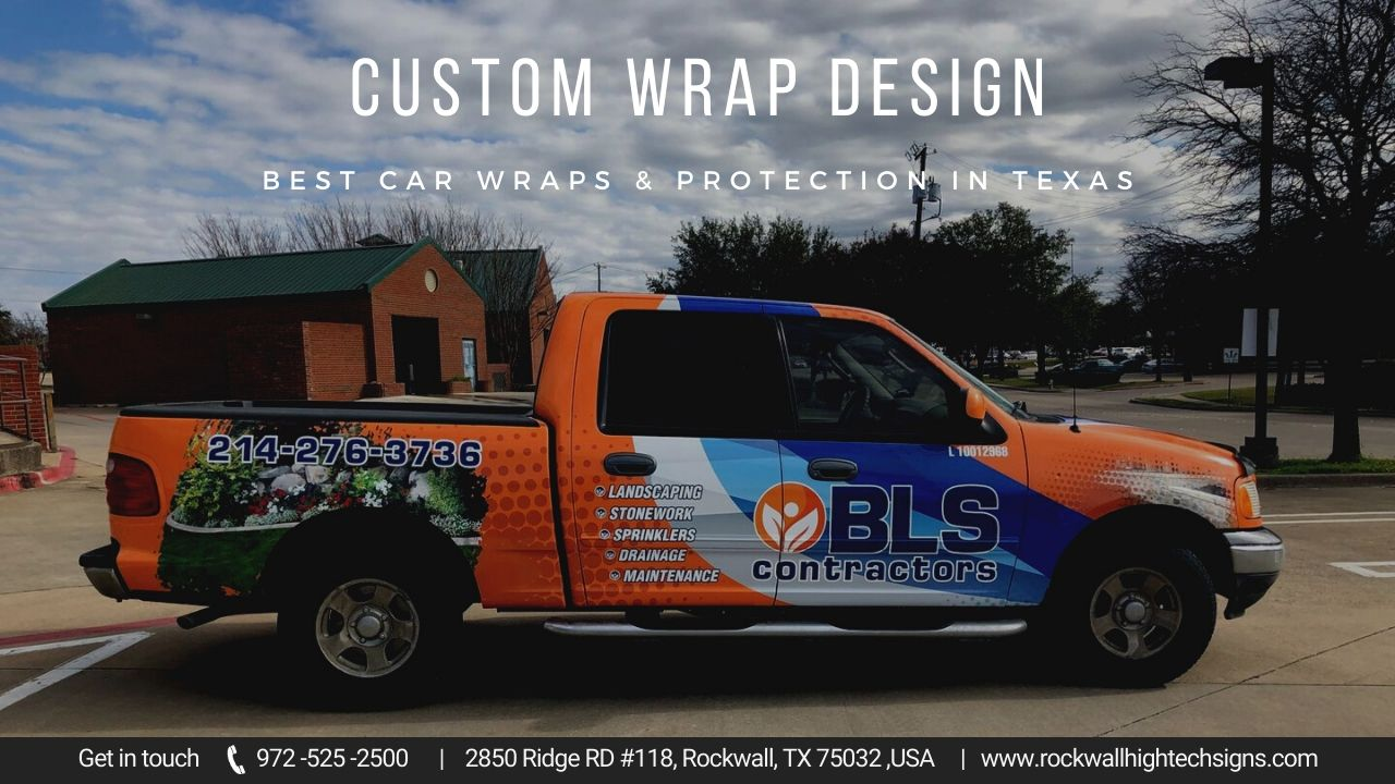 Vehicle Wraps: Creating a Moving Business Billboard